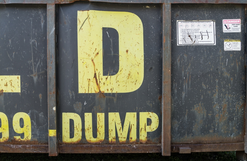 04172016 Dumpster Near Schoepfle Garden-12